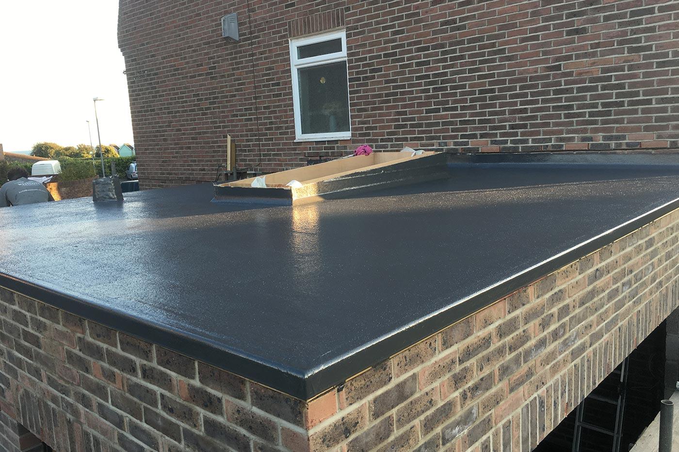 Grp Flat Roofs Westcott Construction